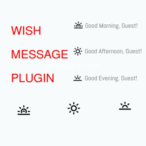 OSCLASS FREE PLUGIN - WISH MESSAGE Developed by RACKONS